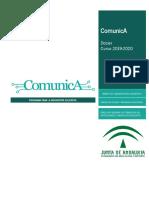Dosier ComunicA Curso 2019 -2020