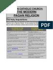 CATHOLIC Doctrine & PAGAN SUNGOD Doctrine