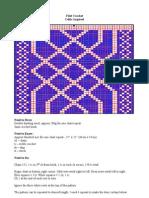Filet Crochet - Knot Work
