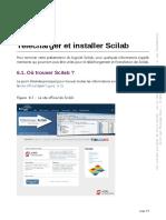 Comment télécharcher et installer Scilab