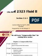 Compressible flow - hanakuse (part 1)