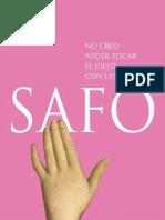 Safo - No creo poder tocar el cielo con las manos (r1.0)