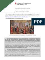 Ficha de trabalho - O poder absoluto e o cerimonial da corte