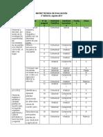 6-. Matriz Técnica de evaluación