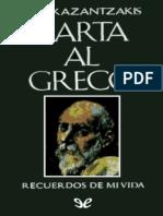 Kazantzakis, Nikos - Carta al Greco [52680] (r1.0 oronet).epub