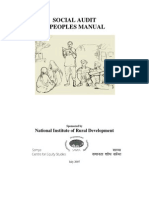 Social Audit Manual by Nird