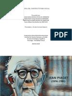 Presentación Constructivismo, Piaget.