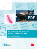 2011 MEASURING THE IMPACTS OF QUALITY INFRASTRUCTURE