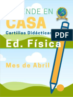 CARTILLA  ED. FISICA GRADO 6