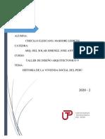 Historia de la vivienda social en el Perú
