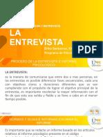 Proceso de la Entrevista e informe Psicológico Unidad 3.pptx