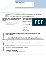 lesson plan template for centers