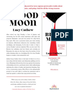 Blood Moon by Lucy Cuthew Author's Note