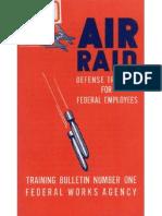 Air Raid Training Guide (1942)