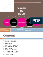 Software Developement Life Cycle ppt