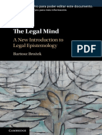 Brożek, Bartosz - The legal mind _ a new introduction to legal epistemology-Cambridge University Press (2020) ES.docx