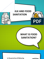 MILK AND FOOD SANITATION