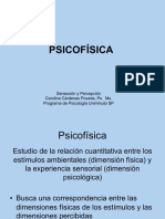 Sensopercepción_Unidad 3 psicofísica