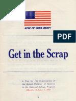 Scrap Drive Guide (1942)