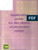 Application Guide for the Choice of Protective Relay (CEE)
