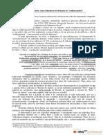 A fraqueza e a transgressão como elementos de obtenção do melhoramento, por José Amorim de Olivei