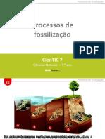 CienTic7- M2 Processos de fossilização