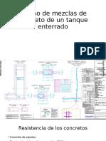 Diseño de mezclas de concreto de un tanque enterrado (1)