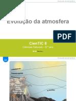 CienTic8- A3 Evolução da atmosfera terrestre