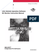 CNC Remote Operation Software NC Monitor Instruction Manual