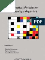 Perspectivas Actuales en la Arqueología Argentina (IBarbarena, Borrazzo & Borrero)