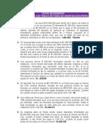 CASOS DE INVERSIÓN PARA RESOLVER CON TABLAS DE FONDO DE AMORTIZACIÓN