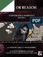AE01-03 - Convergence Manifesto - Rime or Reason