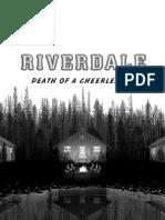 Death of a Cheerleader Excerpt (Riverdale, Novel #4)