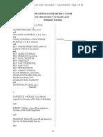 Stay-At-Home Order Lawsuit - Maryland Gov. Larry Hogan