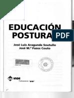 Educación_Postural_Primera_edición_José_Luis_Aragunde_Soutullo_José