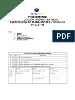 PR-GI-ST-03 comunicación interna, participacion de trabajadores y consultaV4