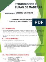 Presentación_MADERAS 6_DISEÑO DE VIGAS
