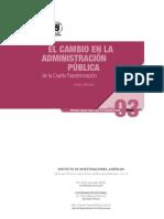 Marquez, D - El cambio de la administracion publica de la cuarta transformacion