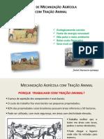 Mecanização Agrícola com Tração Animal