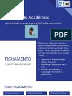 Fichamento Acadêmico