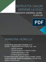DEZOBSTRUCTIA CAILOR AERIENE LA DULT- DR FILIP.pptx
