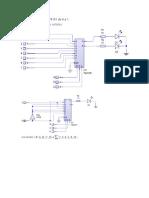 Diagrama multiplexor 74151 de 8 a 1