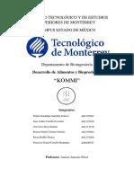 DISEÑO DE UNA ESTRATEGIA DE ESTUDIO DE MERCADO