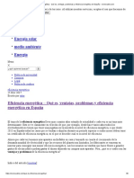 Eficiencia energética - Qué es, ventajas, problemas y eficiencia energética en España - erenovable.com
