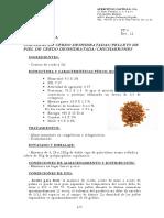 FICHA TECNICA CORTEZA DE CERDO NIDI