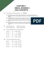 Chemical Bonding I