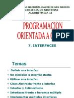 Septima Clase de Algoritmica II V