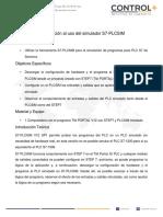Guia simulación PLC SIM