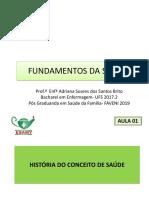 AULA  FUNDAMENTOS DA SAUDE