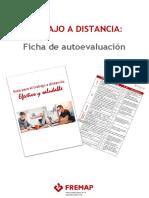Ficha de autoevaluación para el trabajo a distancia